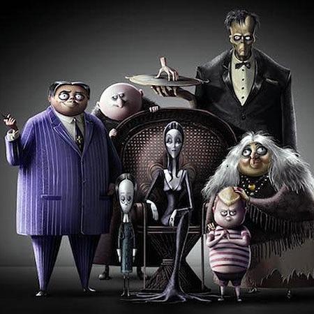"""Primeira imagem da animação """"A Família Addams"""", que chega aos cinemas em 2019 - Divulgação/MGM"""