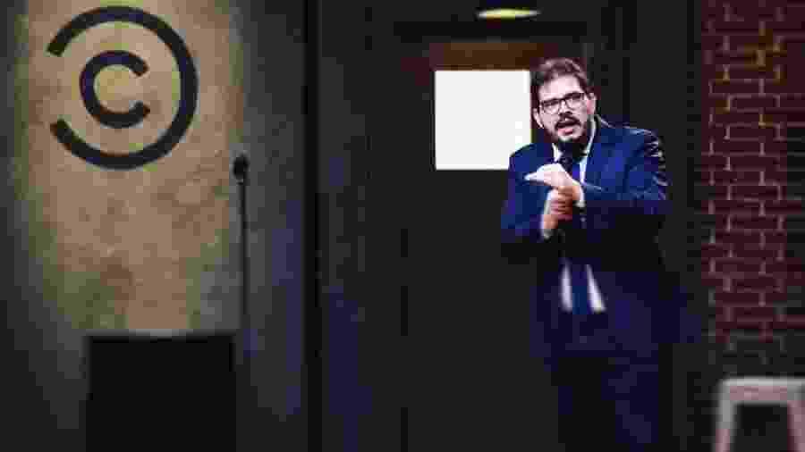 Rodrigo Fernandes grava comédia stand-up para o canal pago Comedy Central, mas programa não irá ao ar - Rodrigo Trevisan/Reprodução/Instagram/jbanguela
