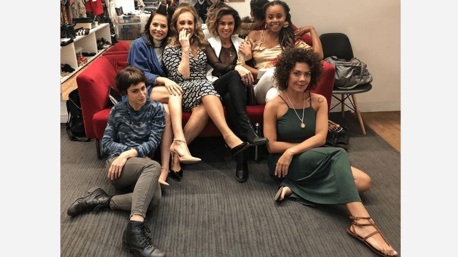 Leticia Colin,  Arlete Salles, Giovanna Antonelli, Roberta Rodrigues, Luisa Arraes e  Fabiula Nascimento. - Reprodução/Instagram
