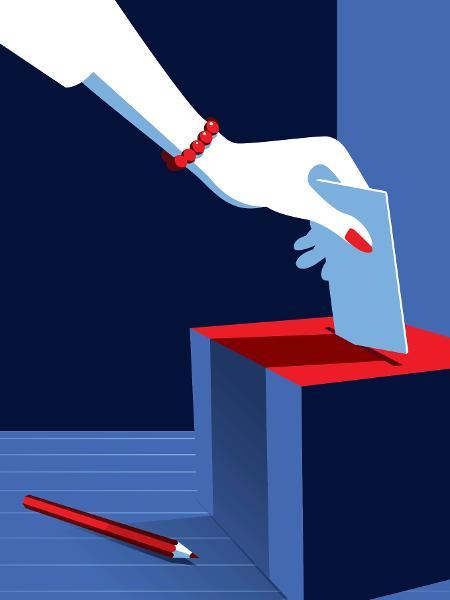 Mulheres nas urnas podem resolver a eleição esse ano - iStock