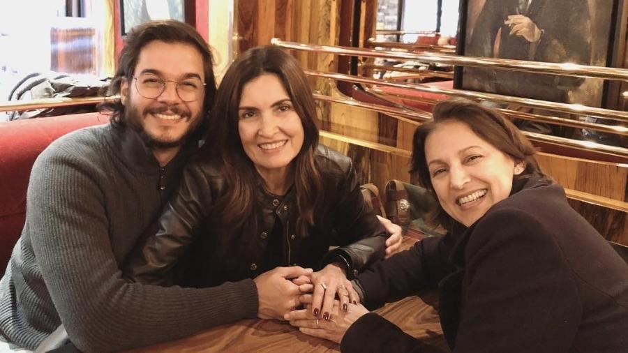 Túli Gadêlha e Fátima Bernardes viajam de férias para Paris, na França - Reprodução/Instagram
