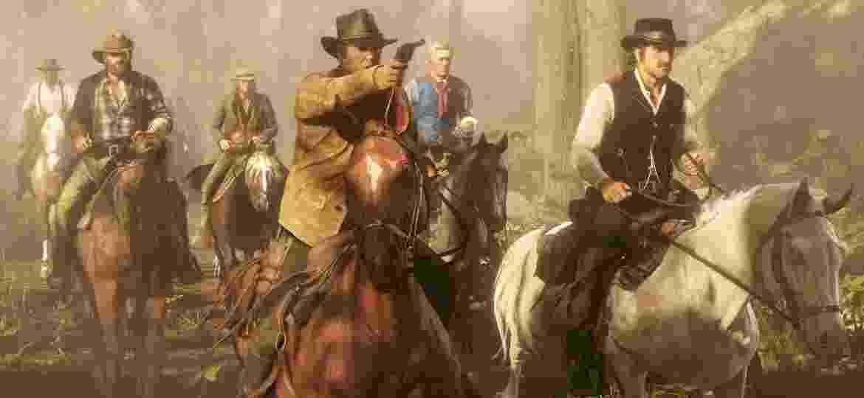 """Imagem do jogo """"Red Dead Redemption 2"""", da Rockstar - Divulgação"""
