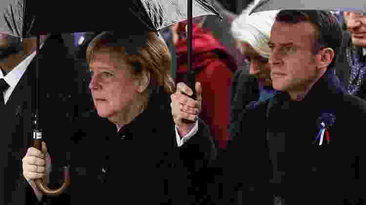 Merkel e Macron - Xinhua/Zheng Huansong - Xinhua/Zheng Huansong