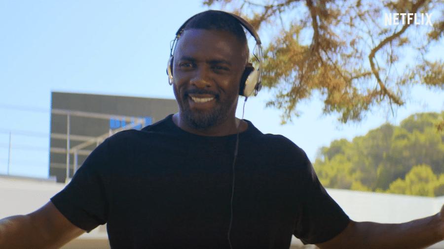 """Idris Elba em """"Se Joga, Charlie"""" - Reprodução/YouTube"""