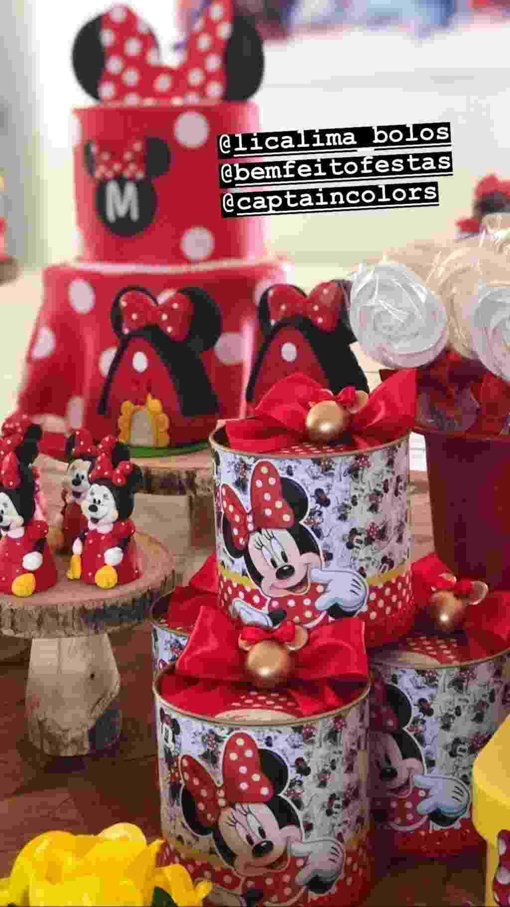 Bruno Gissoni mostra decoração do aniversário da filha com Yanna Lavigne - Reprodução/Instagram