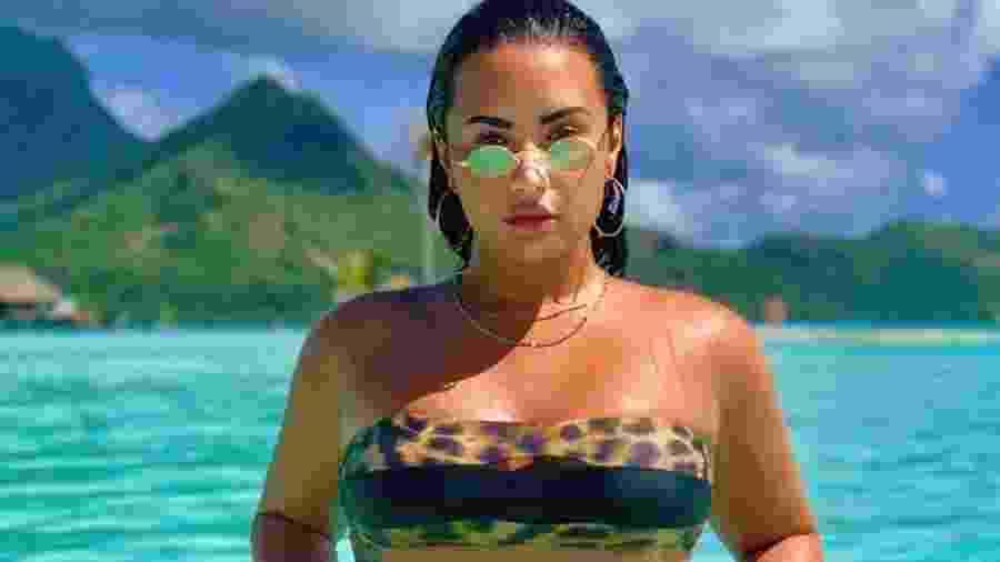"""Demi Lovato faz nova tatuagem que significa """"renascimento do espírito"""" - Reprodução/Instagram"""
