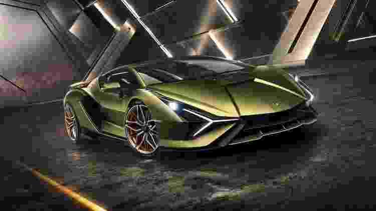 Sian é híbrido leve com mais de 800 cv - Lamborghini/Divulgação