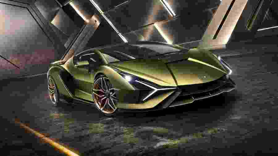 Lamborghini Sian - Lamborghini/Divulgação