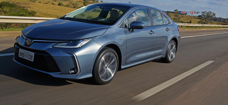 Corolla híbrido é exclusividade do Kinto Share, serviço de carsharing da Toyota - Murilo Góes/UOL