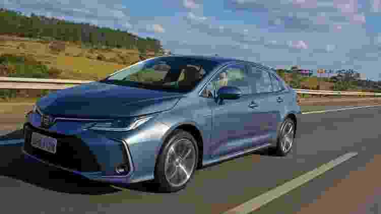 Toyota Corolla Altis Hybrid 2020 - Murilo Góes/UOL - Murilo Góes/UOL