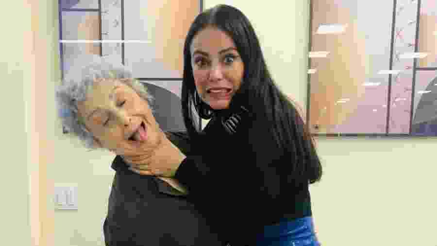 Paolla Oliveira brinca com Ana Lúcia Torre - Reprodução/Instagram