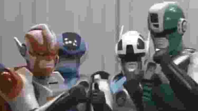 Cybercops, os Policiais do Futuro - Reprodução - Reprodução