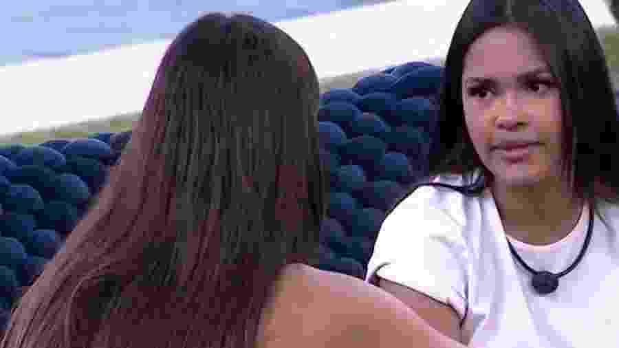 BBB 20: Flayslane confessa ciúme de Mari - Reprodução/Globo