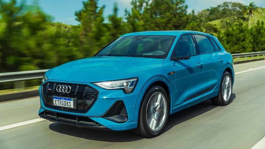 Audi e-tron é um dos carrões disponíveis no programa de assinaturas - Divulgação/Audi