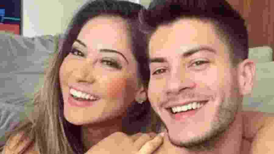 Mayra Cardi e Arthur Aguiar quando eram casados - Reprodução