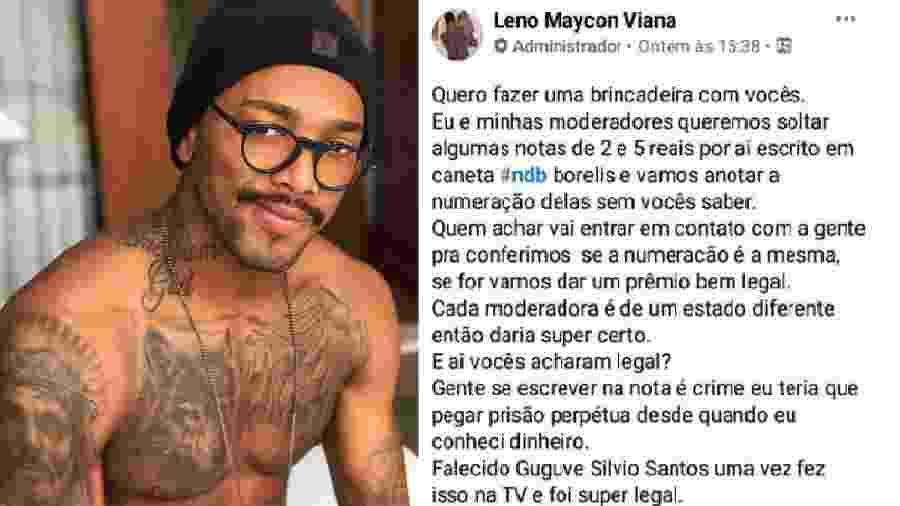 Nego do Borel tem nome atrelado a golpe no Facebook - Reprodução/Facebook