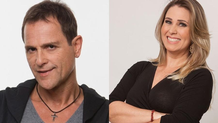 Sylvinho Blau-Blau e Andrea Sorvetão - Reprodução/Divulgação/Montagem UOL