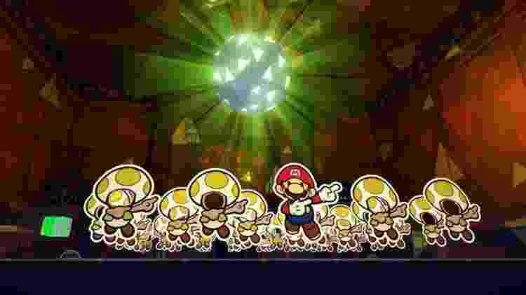 Paper Mario the Origame Game - Divulgação/Nintendo - Divulgação/Nintendo