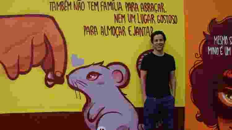 """O escritor Hugo Barros, autor de """"O Menino Invisível"""" - Divulgação - Divulgação"""