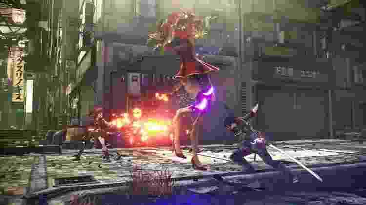Scarlet Nexus combate dupla - Divulgação/Bandai Namco - Divulgação/Bandai Namco