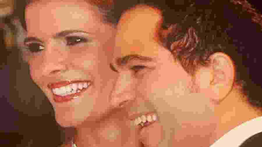 Luciano Camargou mostrou foto do casamento nas redes sociais - Reprodução/Instagram @camargoluciano