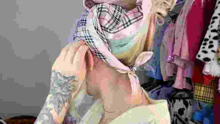 Lenço camponesa - foto 5 - Natália Eiras - Natália Eiras
