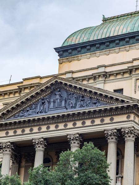 Biblioteca Nacional, no Rio de Janeiro - Getty Images/iStockphoto