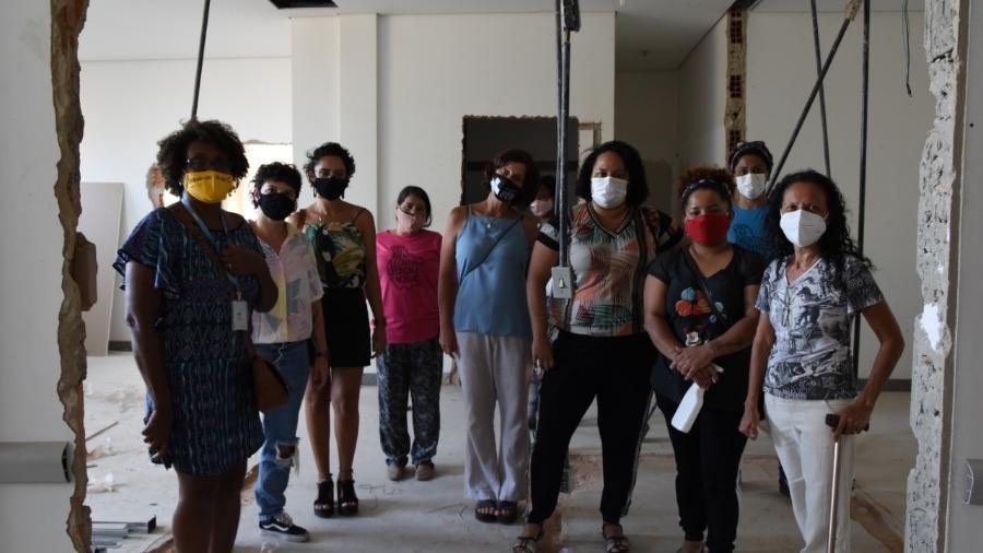 Grupo participa de ocupação de maternidade em BH - Ariane Silva/UOL