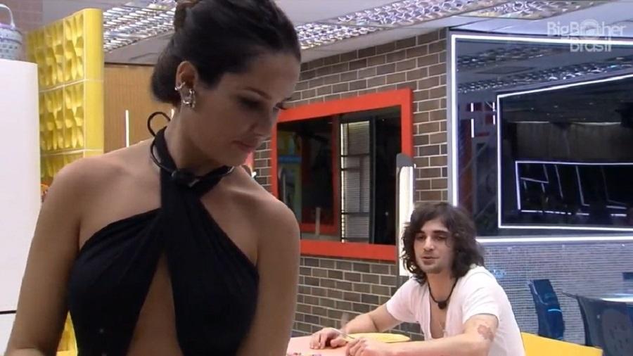 BBB 21: Juliette manda recado para pai de Fiuk - Reprodução/Globoplay
