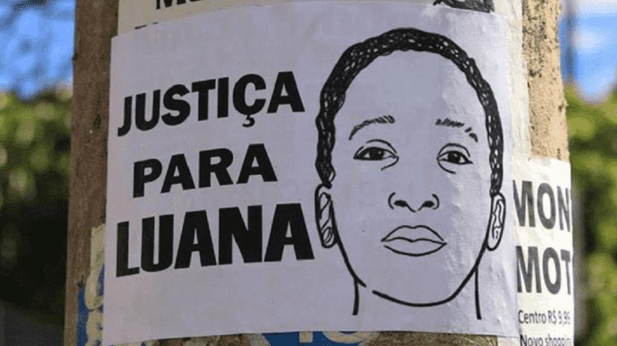 Luana Barbosa morreu cinco dias após a acusação de que havia sidoespancada por policiais militares em uma abordagem - Pedro Borges via Alma Preta