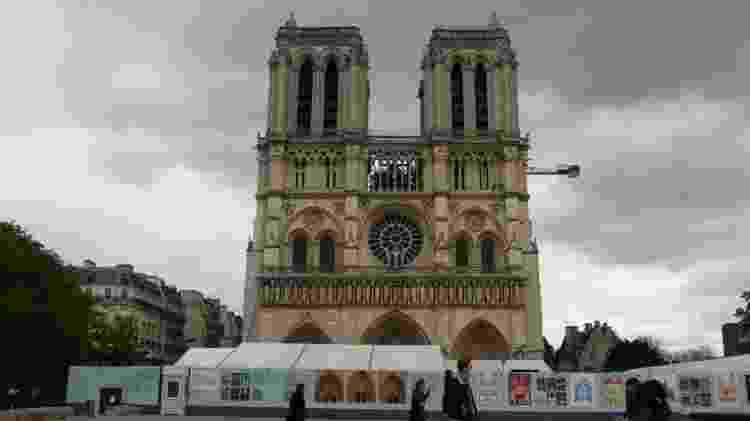 Notre-Dame em restauração: incêndio atingiu catedral em 2019 - Anadolu Agency via Getty Images - Anadolu Agency via Getty Images