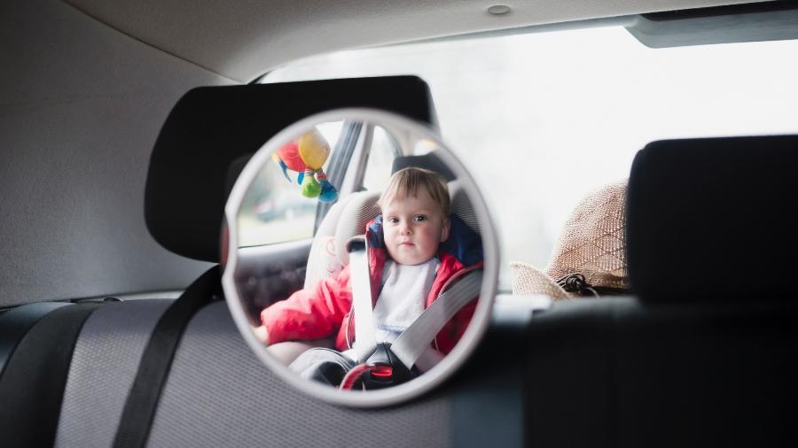 Espelho, tela protetora e outros itens oferecem conforto e segurança ao bebê - Getty Images