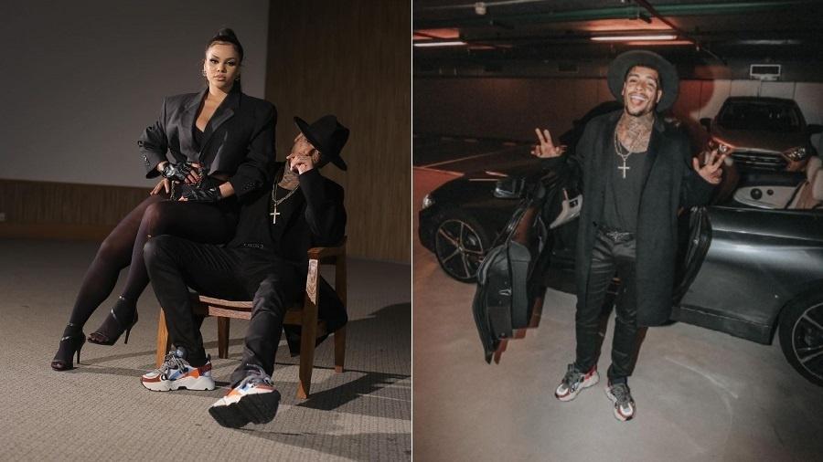 Gabily posta fotos de bastidores do clipe com MC Kevin - Reprodução/Instagram