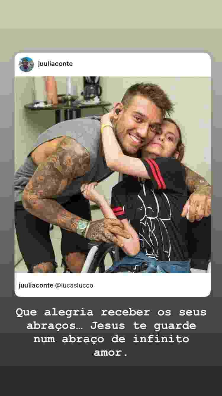 Lucas Lucco lamenta morte de fã - Reprodução/Instagram - Reprodução/Instagram