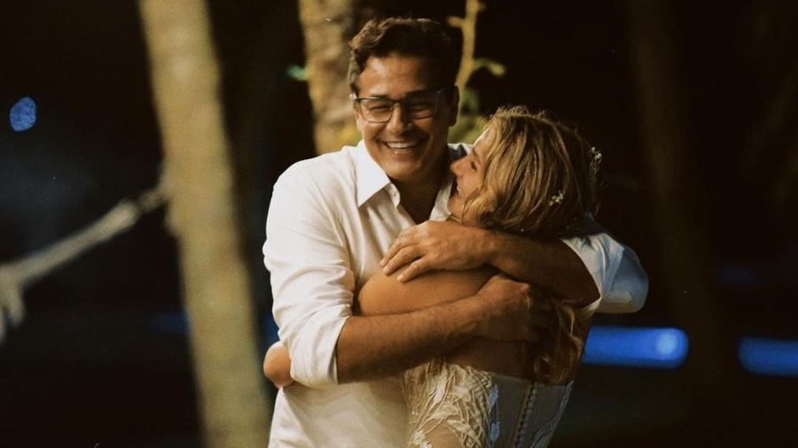 Luciano Szafir e Sasha Meneghel - Reprodução/Instagram @sashameneghel