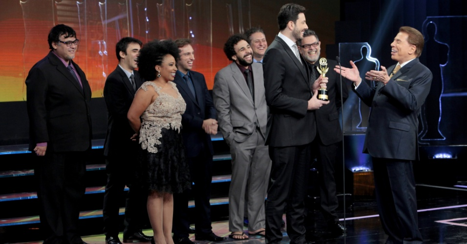 Danili Gentili participa do Troféu Imprensa e ganha a sua estatueta pela maioria dos votos da internet