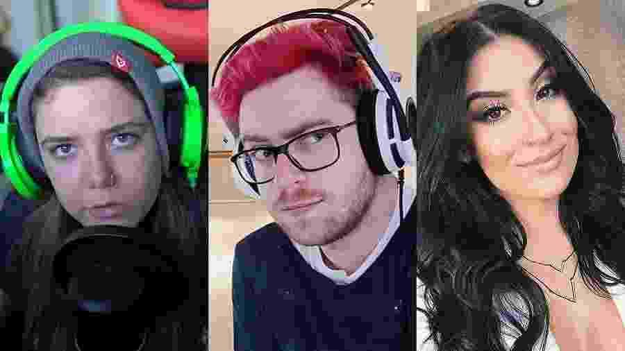 Os youtubers Malena, Luca e Bianca Andrade - Fotos de reprodução