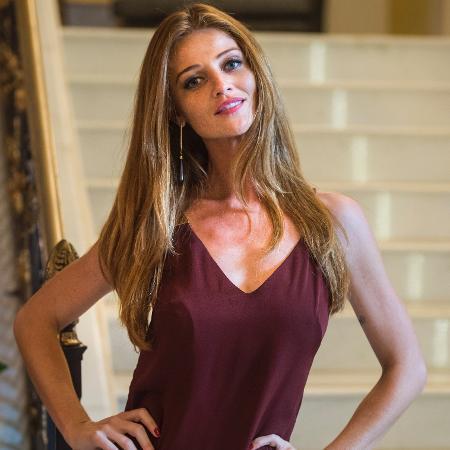 """Cíntia Dicker participou de """"Pega Pega"""" como a modelo norueguesa Ulla - Mauricio Fidalgo/TV Globo"""