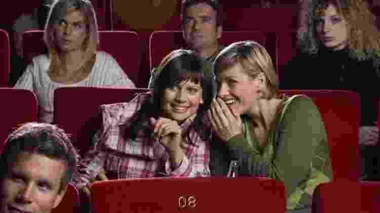 Conversa no cinema - Reprodução - Reprodução