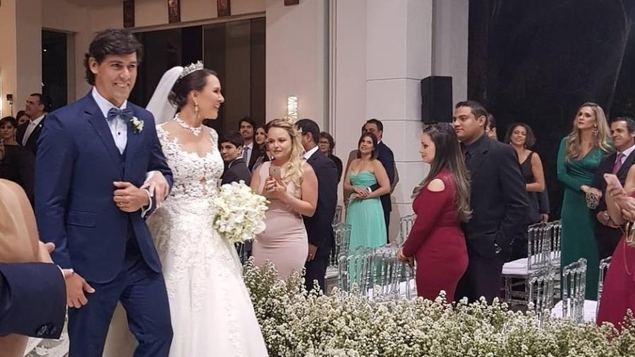O ex-noivo de Paula Fernandes, Henrique do Valle, se casou com Thais Lima - Reprodução/Instagram