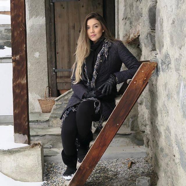 """""""Realizando um sonho"""", escreveu a irmã de Luan sobre viagem à Suiça"""