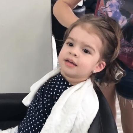 Valentina Muniz, filha de Ceará e Mirella Santos - Reprodução/Instagram