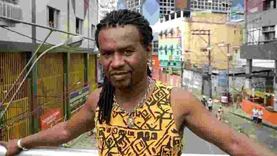 O cantor Nininho de Maré, que morreu em Salvador - Reprodução