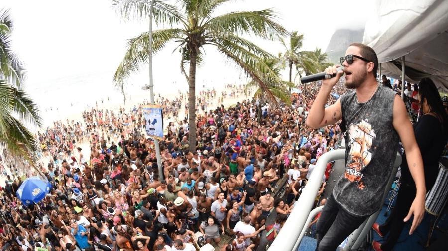 Levi Lima, da banda Jammil e Uma Noites, estreia na pré-Carnaval carioca - Divulgação/Banda Jammil