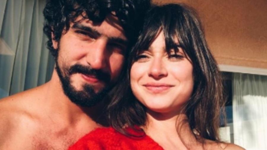 Thaila Ayala e Renato Goés - Reprodução/Instagram/thailaayala