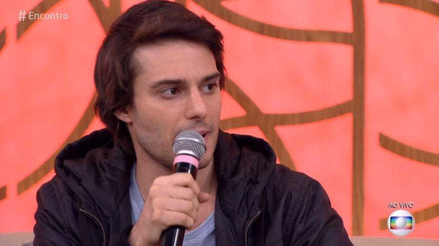 """Hugo Bonemer no """"Encontro"""" - Reprodução/Globo"""