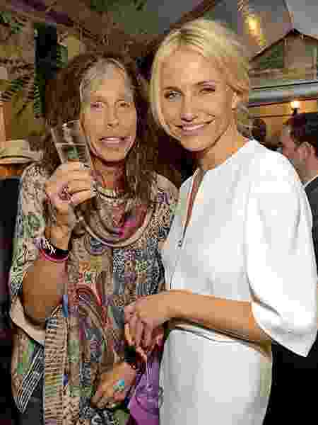 Steven Tyler e Cameron Diaz - Getty Images