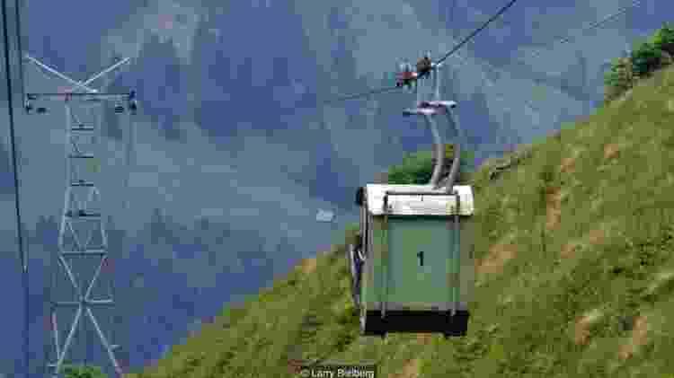 Teleférico suiço - BBC - BBC