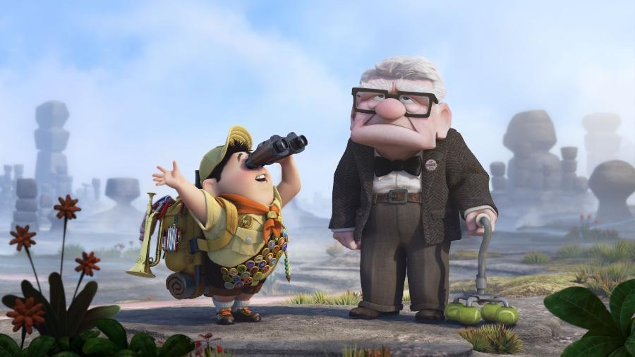 """O senhorzinho rabugento da animação """"Up - Altas Aventuras"""" te lembra algum idoso conhecido? - Divulgação"""
