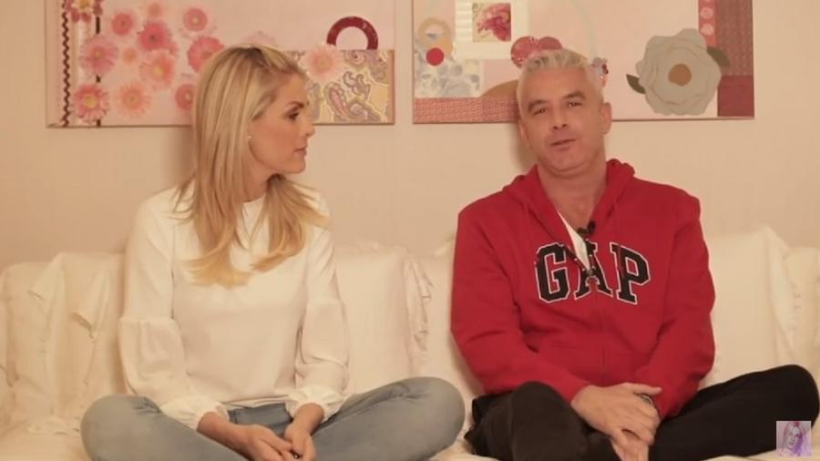 """Alexandre Correa chama Ana Hickmann de """"porca"""" e leva tapa em vídeo - Reprodução/YouTube"""